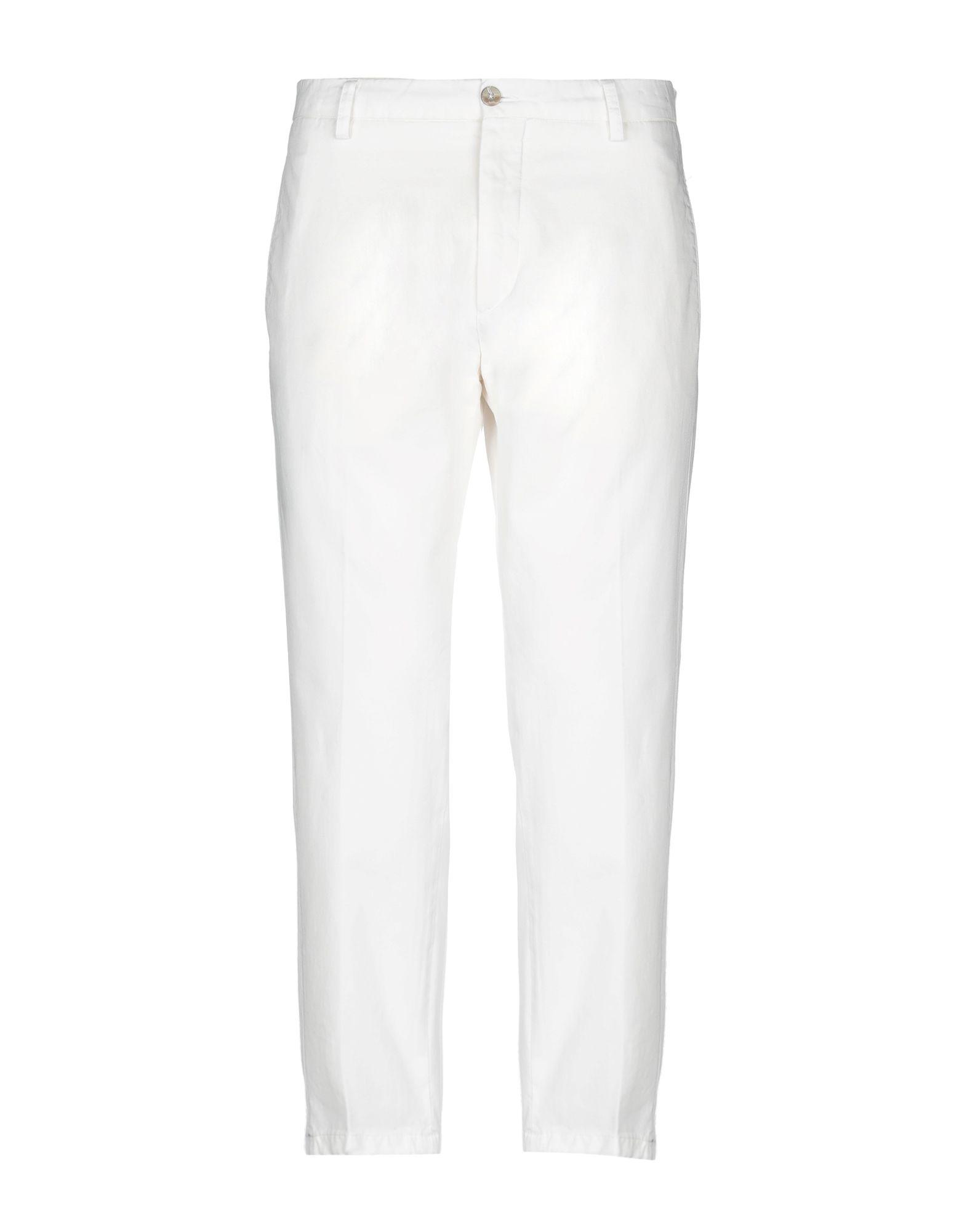 《セール開催中》BE ABLE メンズ パンツ アイボリー 35 コットン 100%