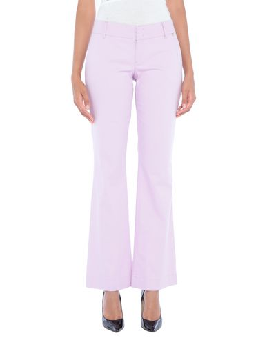 Купить Повседневные брюки от TWINSET розовато-лилового цвета