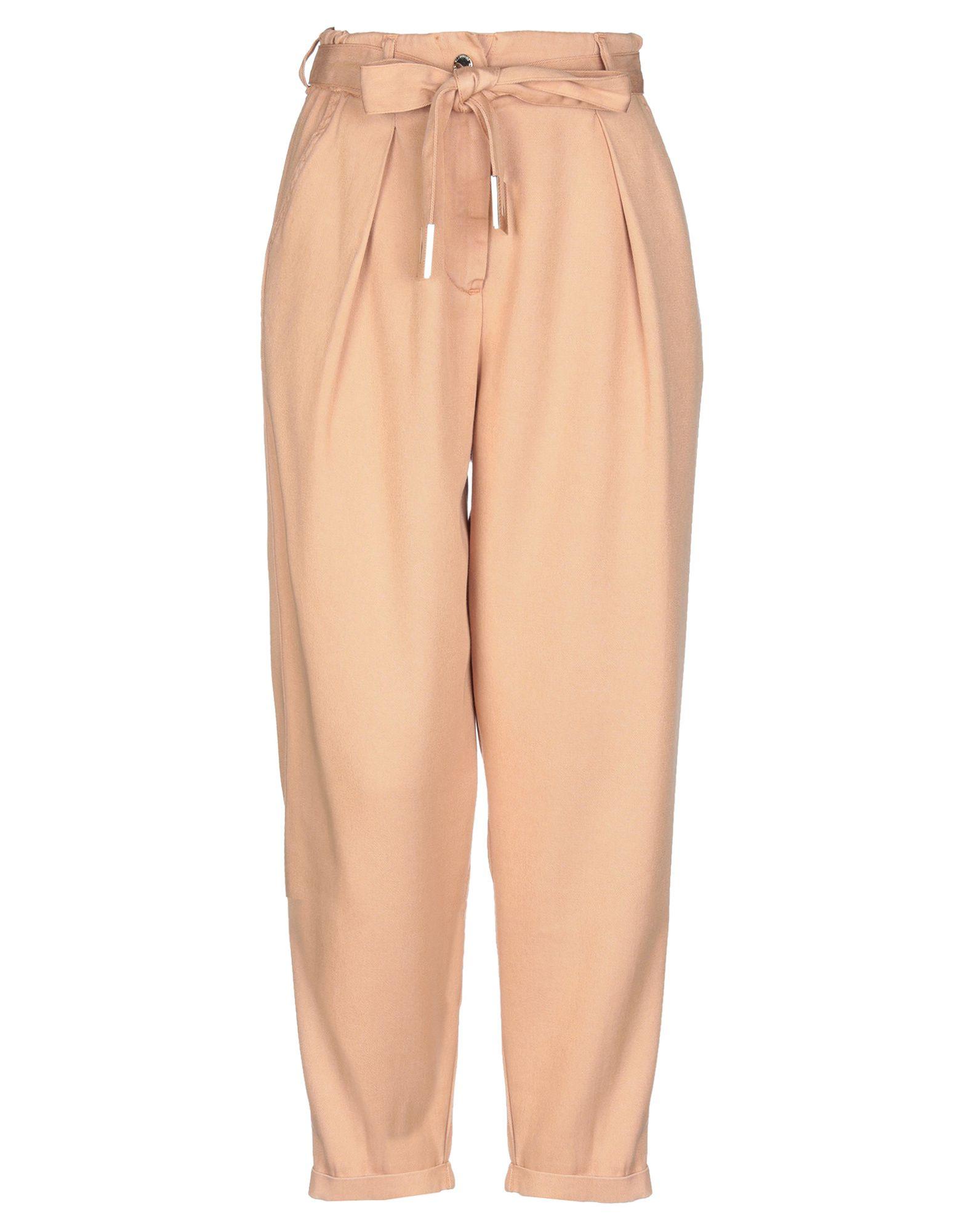 ELISABETTA FRANCHI Повседневные брюки elisabetta franchi брюки с вышивкой