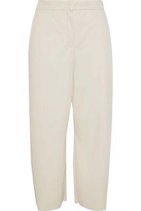 MAX MARA Educata faux leather culottes