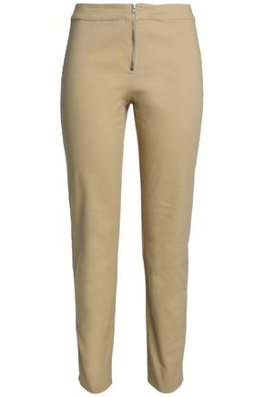 HOUSE OF DAGMAR Amy stretch-cotton slim-leg pants