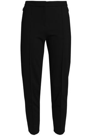 HOUSE OF DAGMAR Harriet cropped ponte slim-leg pants