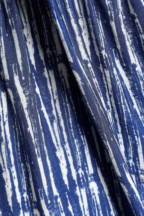 HOUSE OF DAGMAR Printed crepe culottes
