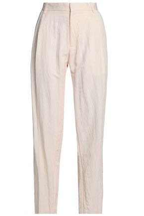 CHALAYAN Crinkled twill tapered pants