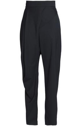 CHALAYAN Draped twill tapered pants