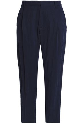 CHALAYAN Twill tapered pants