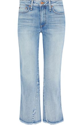 AO.LA by ALICE + OLIVIA Nothing To Lose mid-rise kick-flare jeans