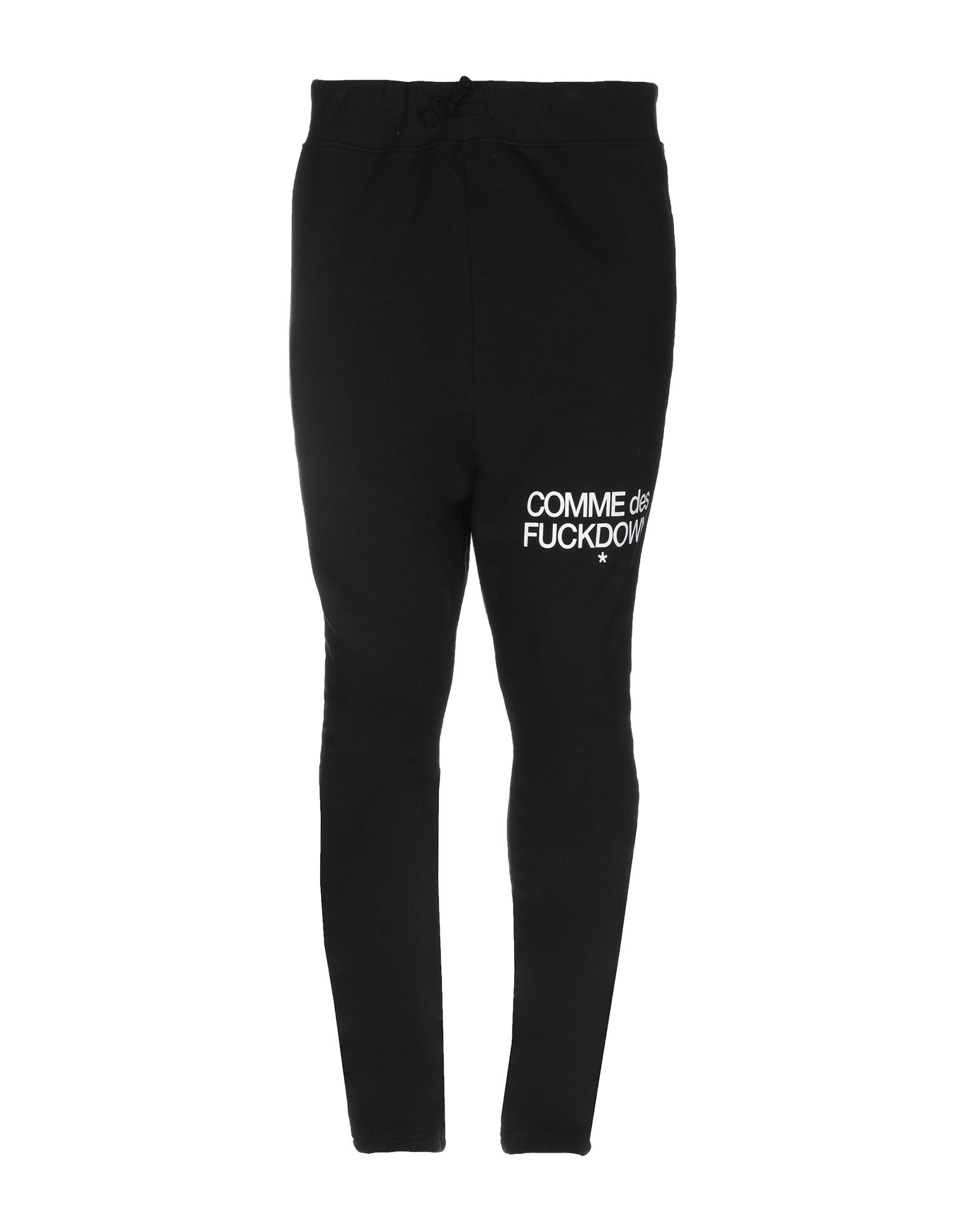 《セール開催中》COMME DES FUCKDOWN メンズ パンツ ブラック L コットン