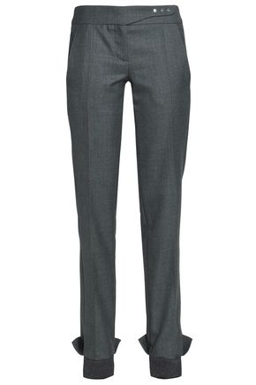PACO RABANNE Wool tapered pants