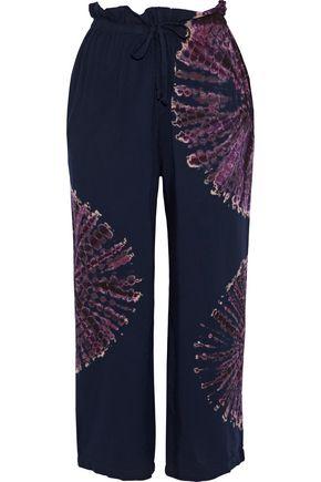 KAIN Bristol tie-dyed voile wide-leg pants