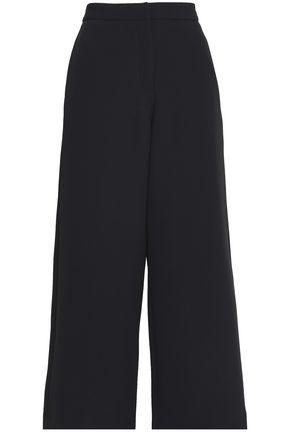 RAG & BONE Cropped crepe wide-leg pants