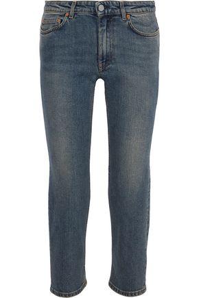 ACNE STUDIOS Row cropped mid-rise slim-leg jeans