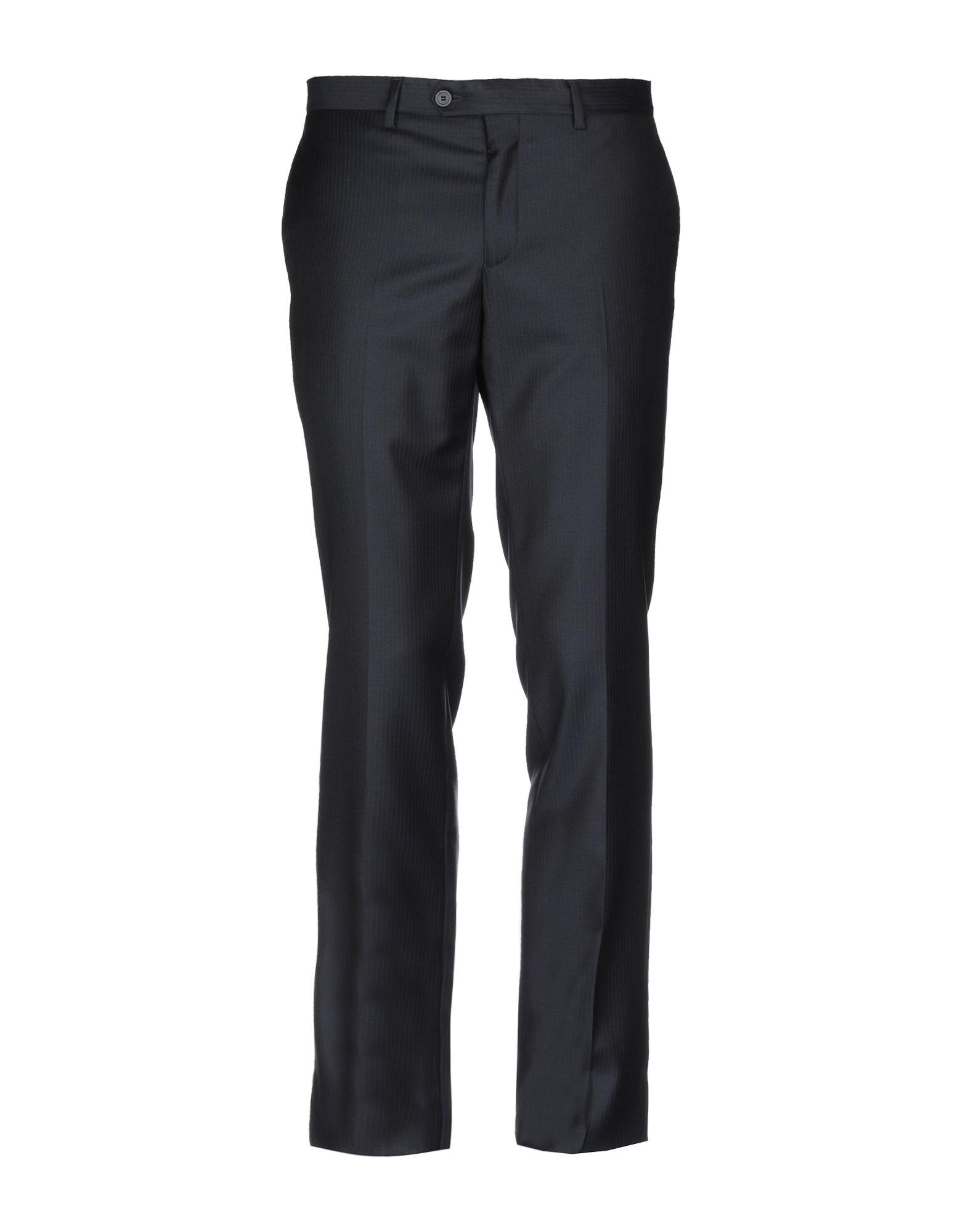 《送料無料》EMPORIO ARMANI メンズ パンツ ダークブルー 50 バージンウール 100%
