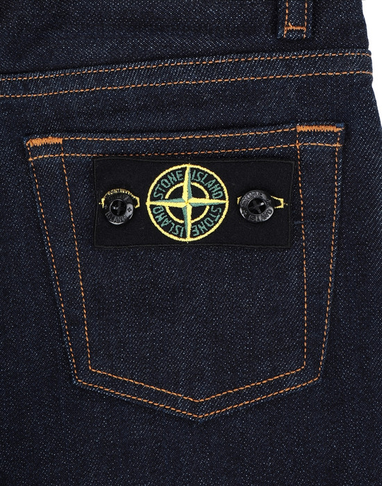 13254192nv - PANTS - 5 POCKETS STONE ISLAND JUNIOR