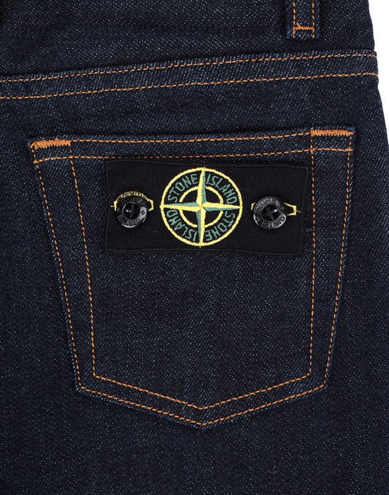13254209cv - PANTS - 5 POCKETS STONE ISLAND JUNIOR