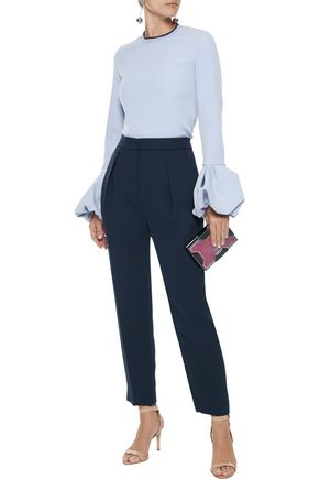 ROKSANDA Surikov pleated crepe tapered pants