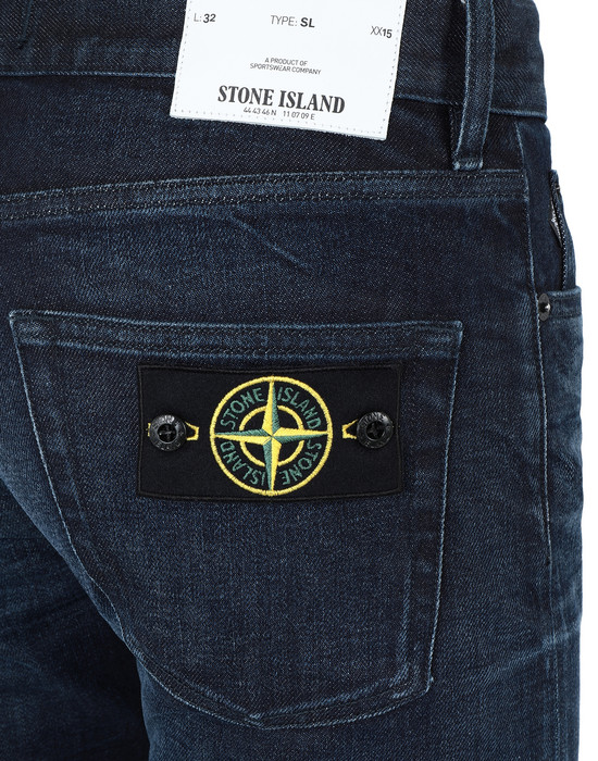 13254439nb - PANTS - 5 POCKETS STONE ISLAND