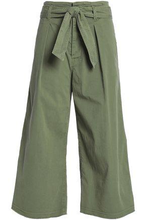 NILI LOTAN Ellie cotton-blend twill culottes