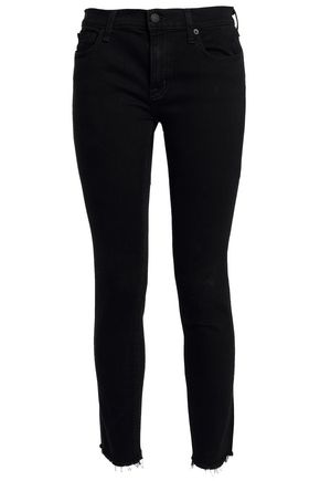 NILI LOTAN Low-rise skinny jeans