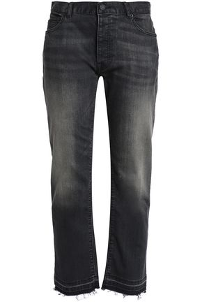 NILI LOTAN Frayed boyfriend jeans