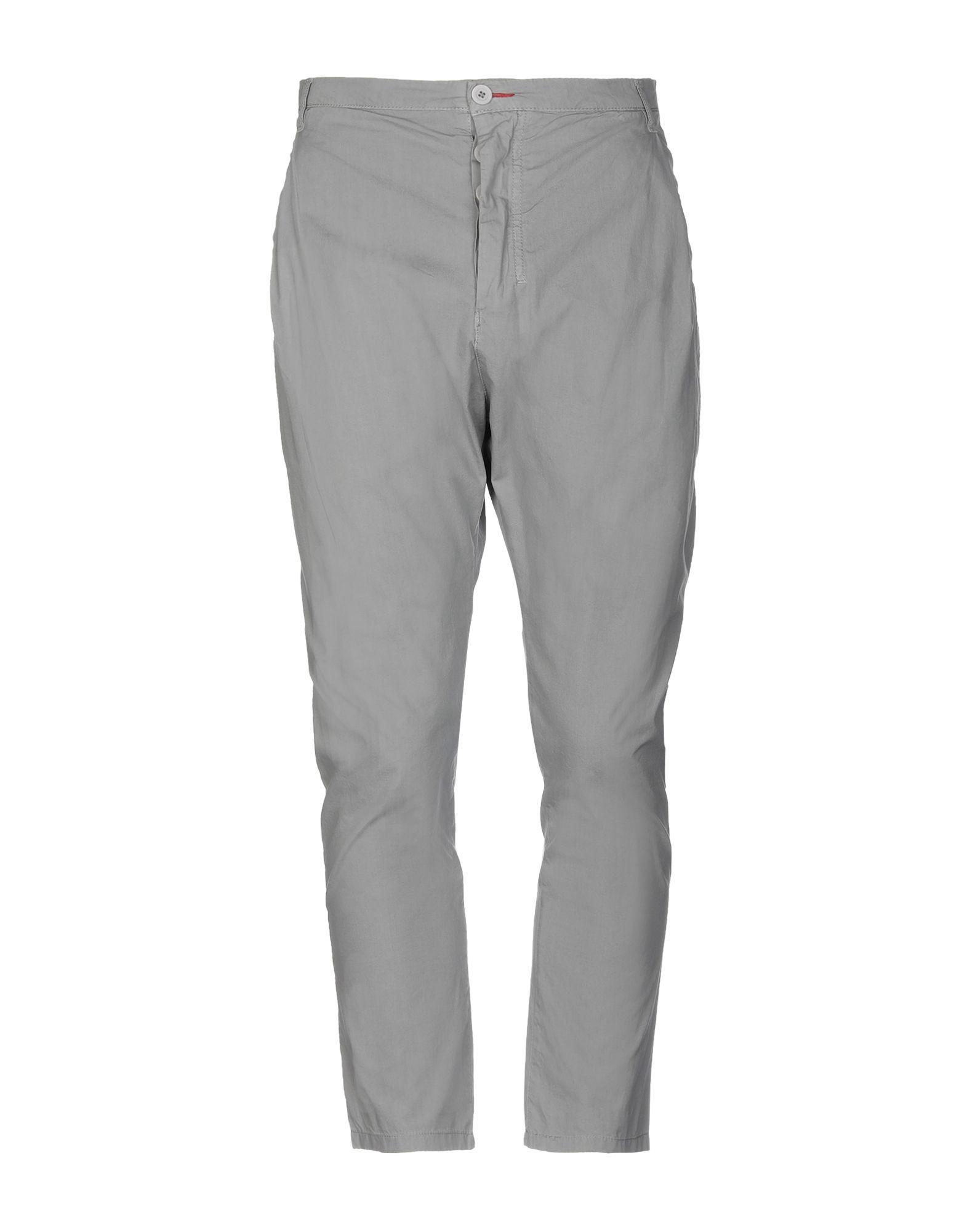 《期間限定セール開催中!》PAUL MIRANDA メンズ パンツ ライトグレー 48 コットン 100%