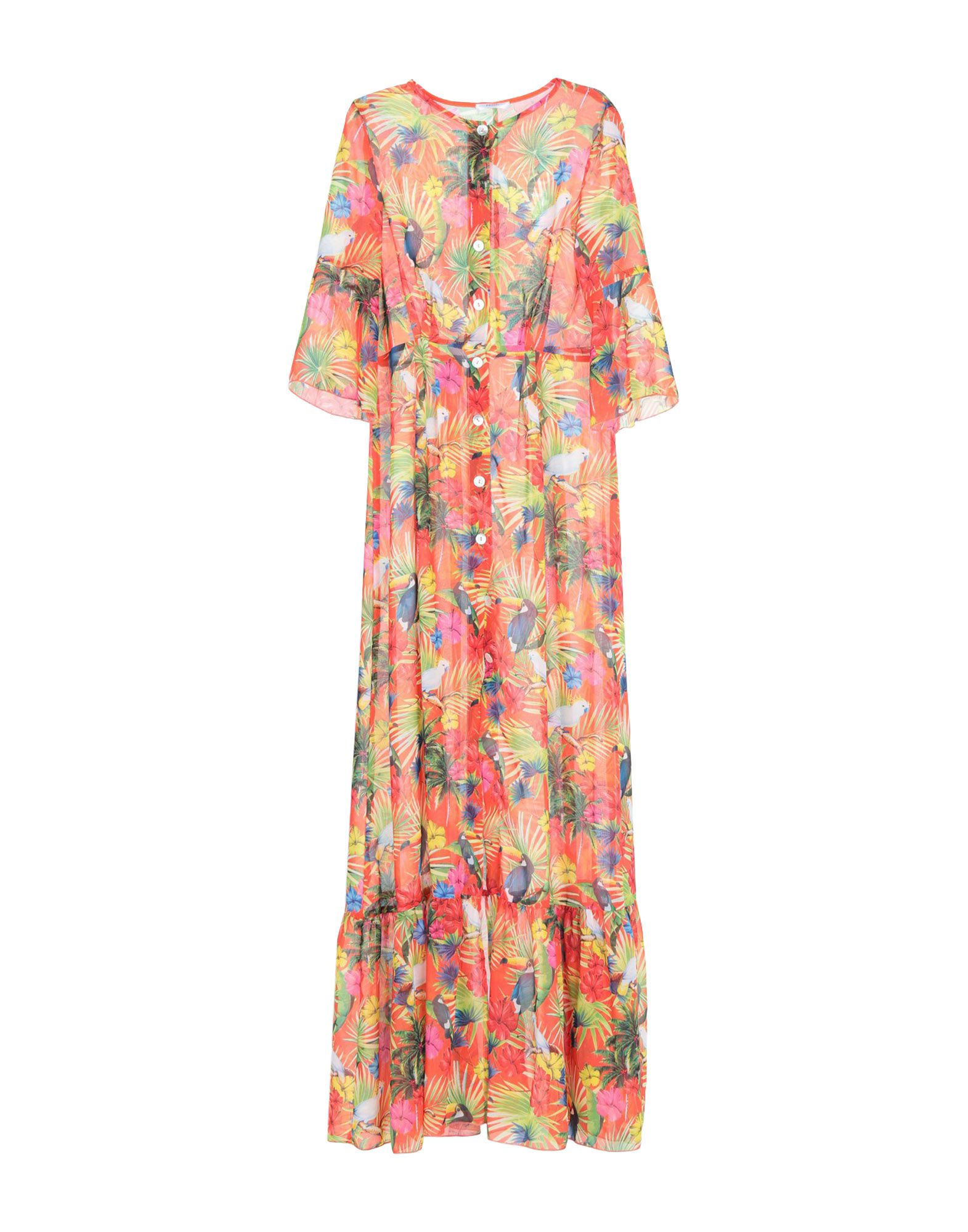 NASH Milano Длинное платье платье рубашка fox yulia sway платье рубашка fox
