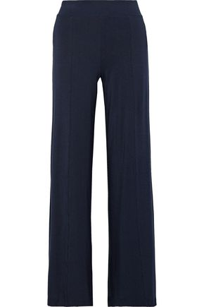 TART COLLECTIONS Otis stretch-modal jersey wide-leg pants