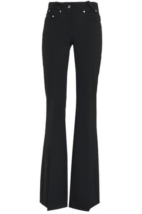 VERSUS VERSACE Stretch-twill flared pants