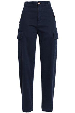SEE BY CHLOÉ Cotton-blend straight-leg pants