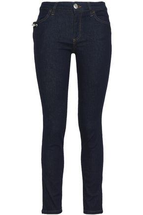 VERSUS VERSACE Embellished mid-rise skinny jeans