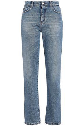 VERSUS VERSACE High-rise straight-leg jeans