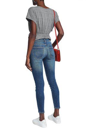 CURRENT/ELLIOTT Joey mid-rise skinny jeans