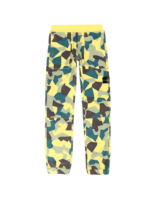 STONE ISLAND JUNIOR Fleece Pants 62206 REVERSIBLE