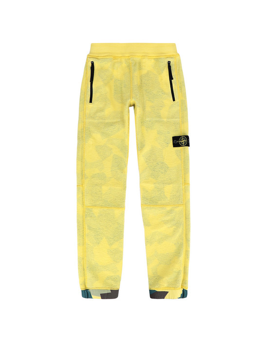 13256380gl - PANTS - 5 POCKETS STONE ISLAND JUNIOR