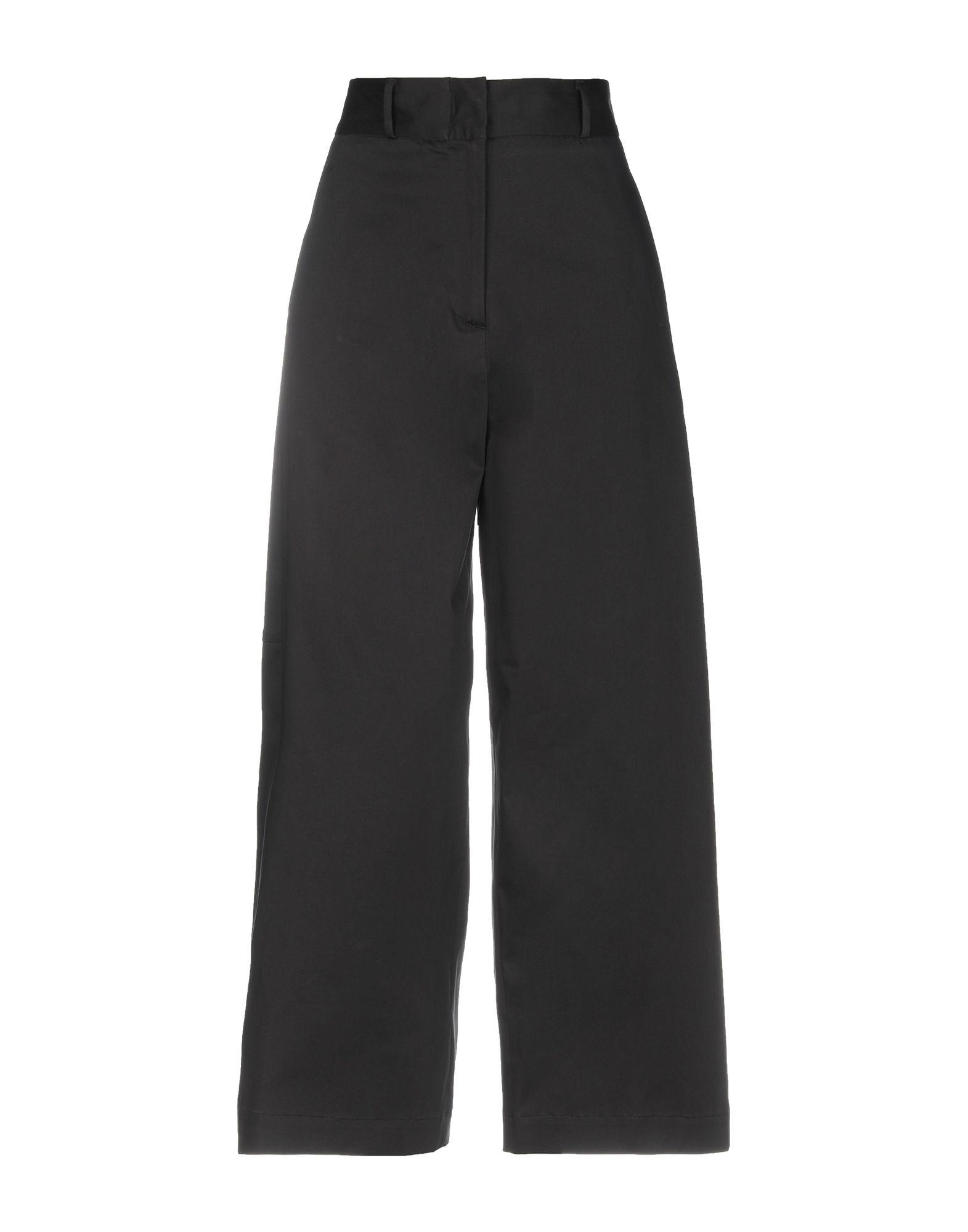 JUPE DE SATIN Повседневные брюки цена