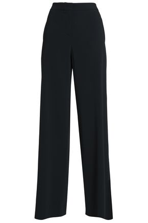 PIAZZA SEMPIONE Michelle crepe wide-leg pants