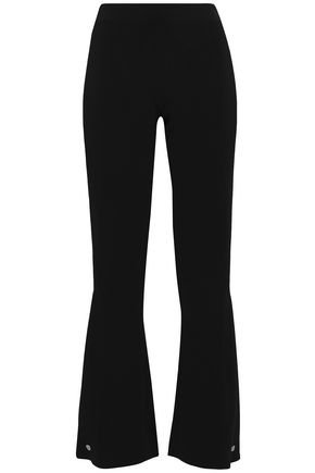 ANTONIO BERARDI Two-tone woven flared pants