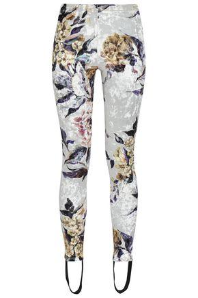MM6 MAISON MARGIELA Printed velvet leggings