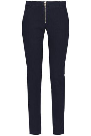 BA&SH Linen-blend slim-leg pants