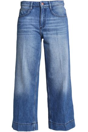 BA&SH High-rise wide-leg jeans