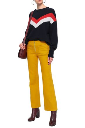 TORY BURCH Mid-rise bootcut jeans