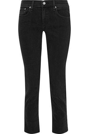 RAG & BONE Dre cropped mid-rise skinny jeans