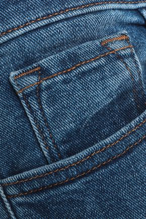 J BRAND Sadey cropped high-rise slim-leg jeans