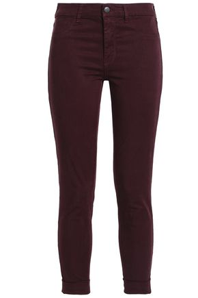 J BRAND Sateen slim-leg pants