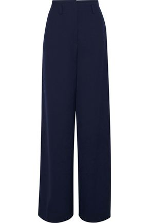 LANVIN Wool-twill wide-leg pants
