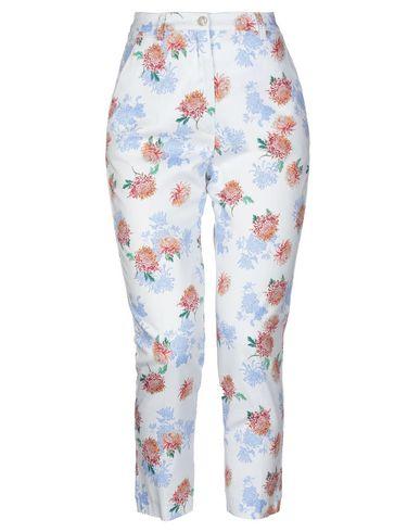 Фото - Повседневные брюки от GRETHA Milano белого цвета