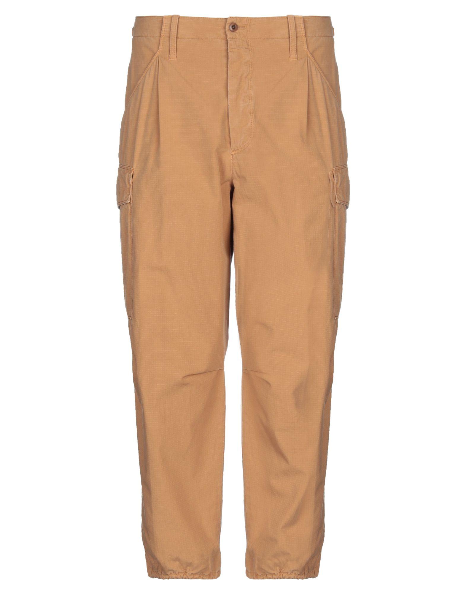 《セール開催中》CELLAR DOOR メンズ パンツ ブラウン 44 コットン 100%