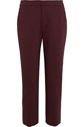 RAOUL Stretch-crepe straight-leg pants