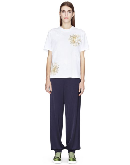 SATIN JOGGING PANTS  - Lanvin