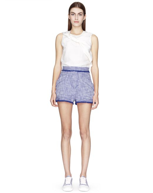 SHORT EN TWEED LÉGER - Lanvin